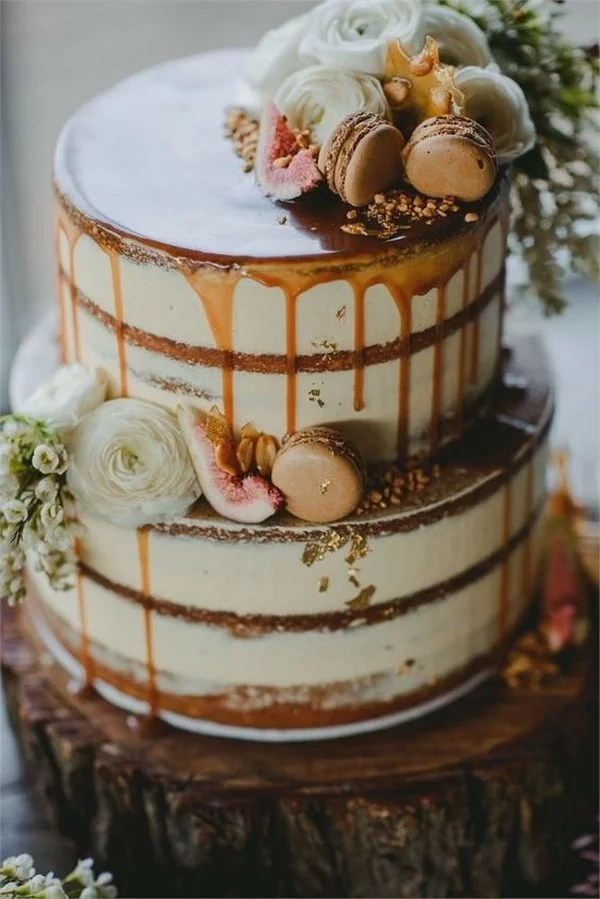 20 Delicious Fall Wedding Cakes That WOW EmmaLovesWeddings