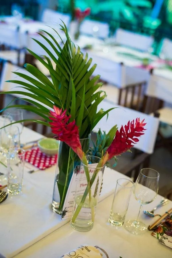 20 Tropical Wedding Centerpieces You Ll Love