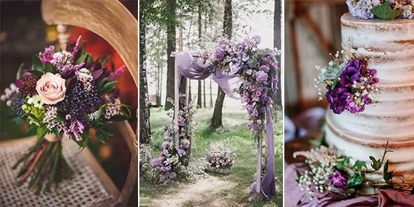 Pantone Color 2018-34 Amazing Ultra Violet Wedding Color