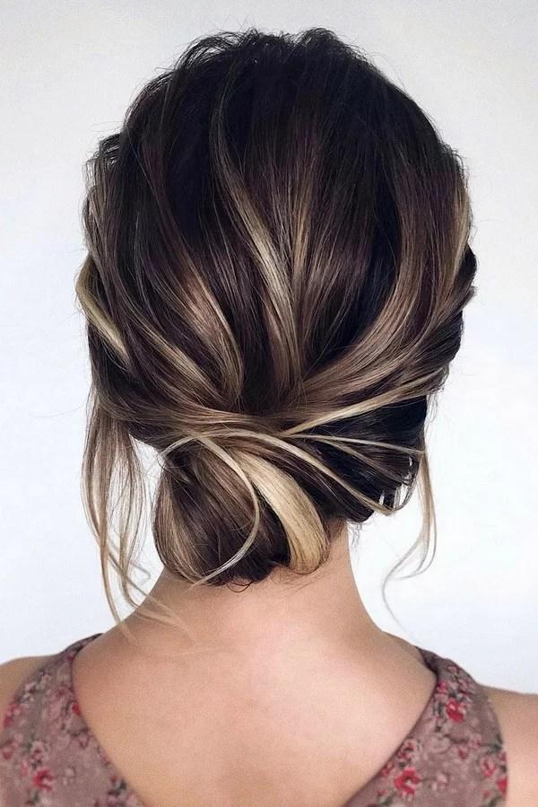 Elegant Low Bun Updo Wedding Hairstyle From Tonyastylist