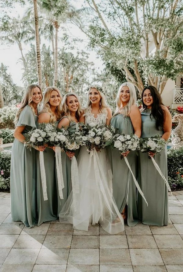 Top 5 Bridesmaid Dress Color Trends For 2019