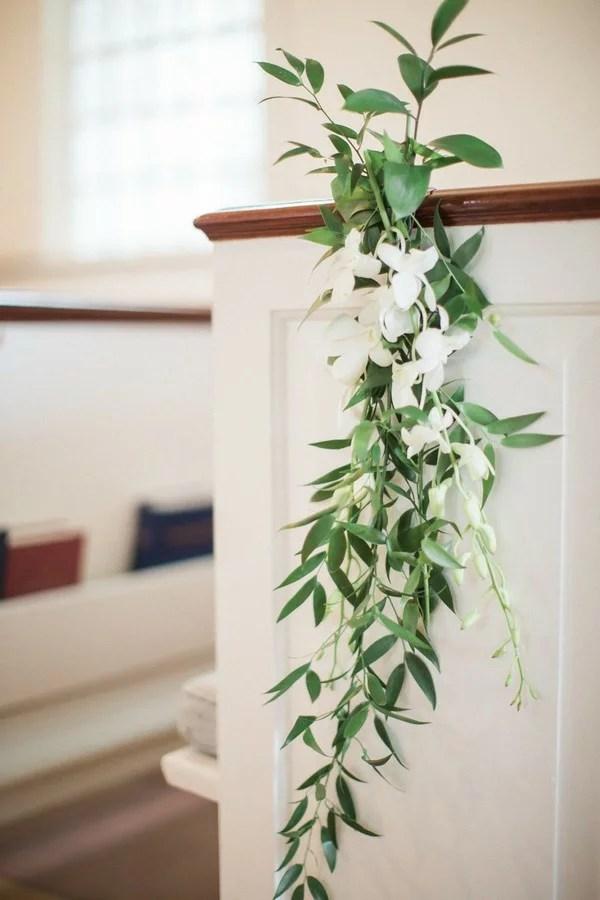 simple elegant church wedding aisle decoration ideas ...