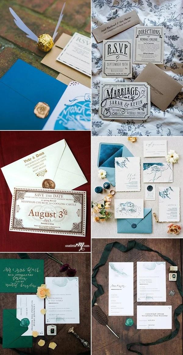 Magical Harry Potter Wedding Ideas