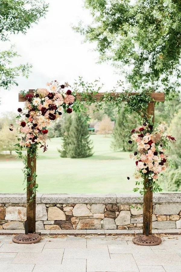 20 Outdoor Fall Wedding Arches For 2019 Emmalovesweddings