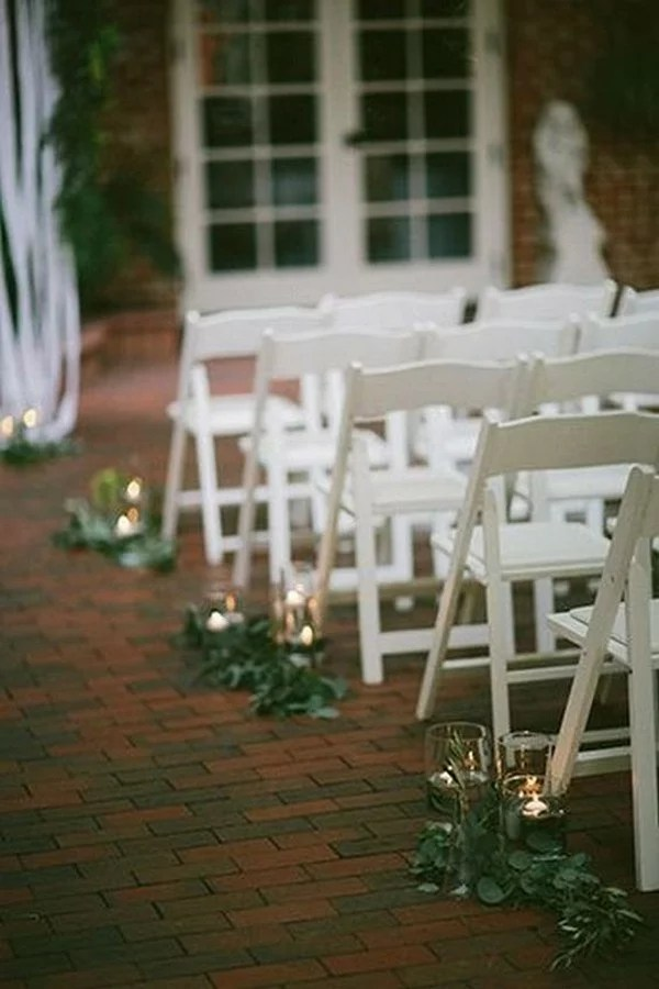 26 Budget Friendly Simple Outdoor Wedding Aisle Decoration Ideas Emmalovesweddings
