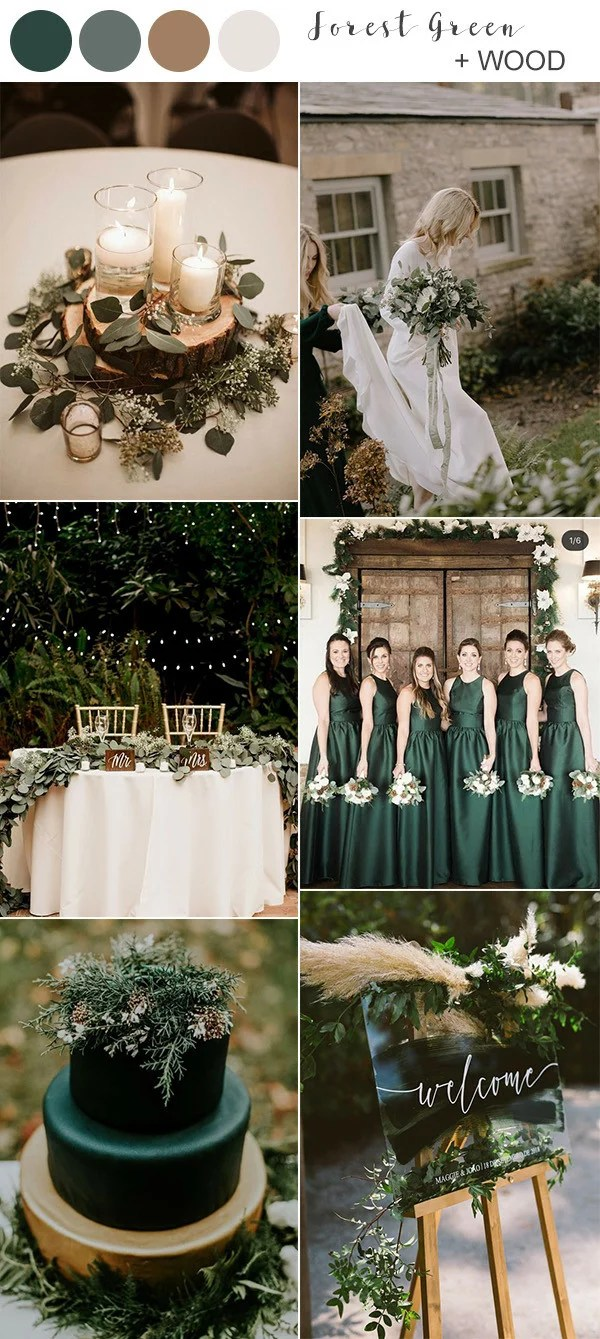 Adding in a few lighter shades to the mix,. Best Fall Wedding Colors for 2021 You'll Fall In Love With