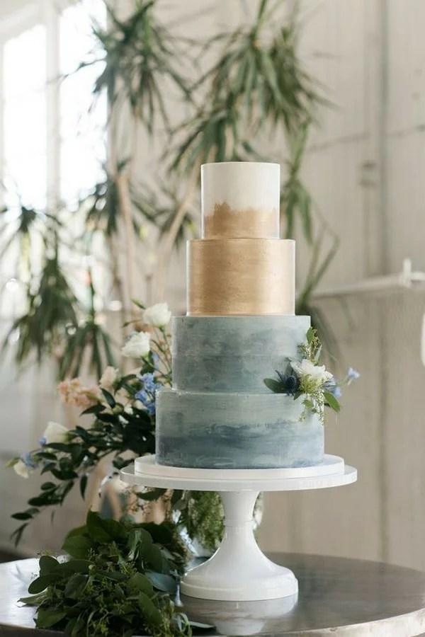 Trending 12 Blue Wedding Cakes For 2020 Emmalovesweddings