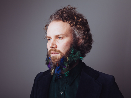 Hipster beard art