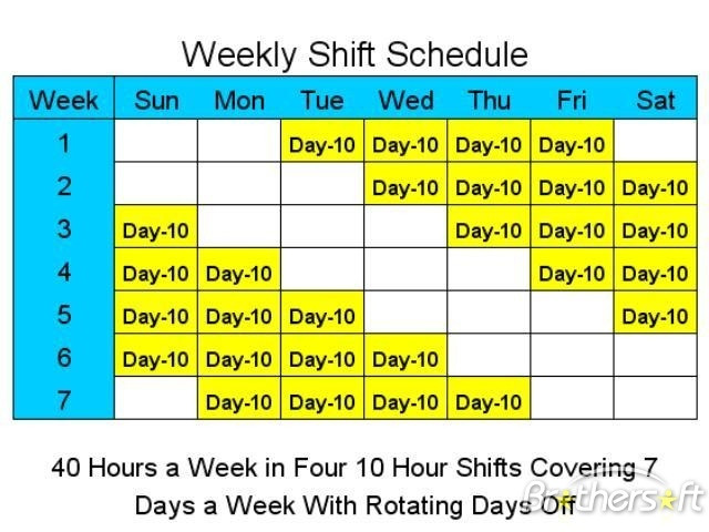 Shift Police 12 Templates Hour