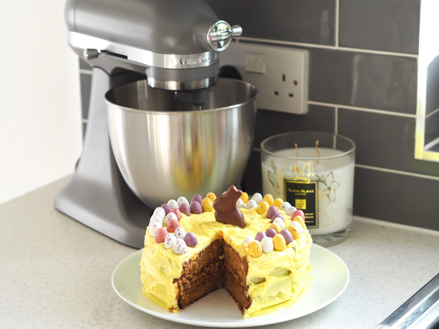 White Chocolate Easter Cake Recipe