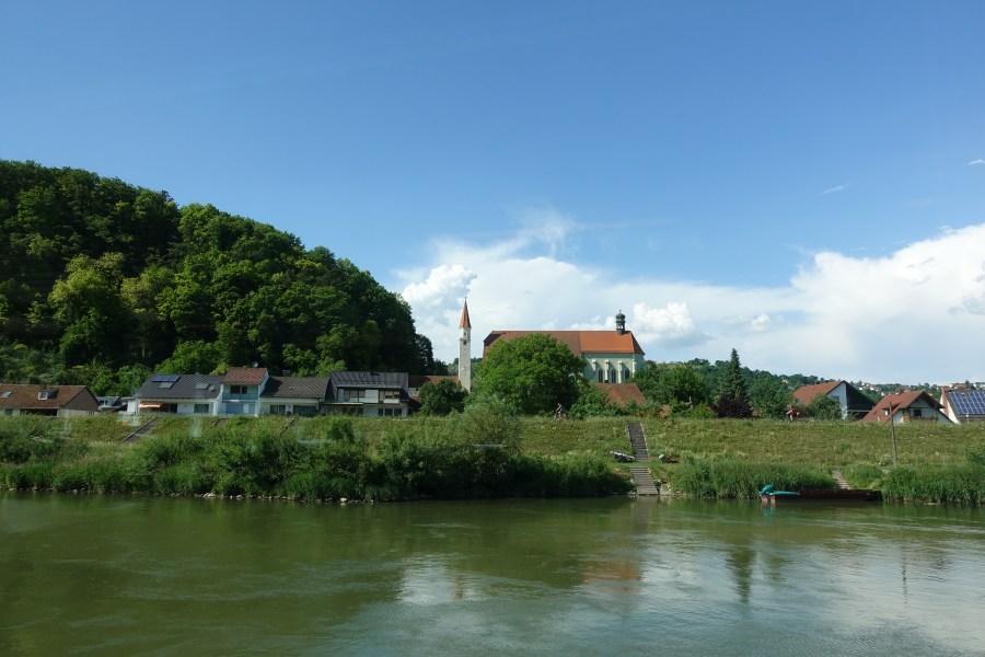 Ferry from Kelheim to Weltenburg Abbey