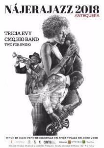 Concierto Tricia Evy. Nájera Jazz Antequera 2018 @ Patio de Columnas del Museo Ciudad de Antequera
