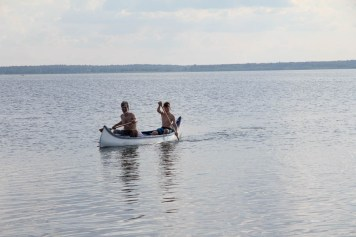 Canoeing: German side on the horizon - we've been there!