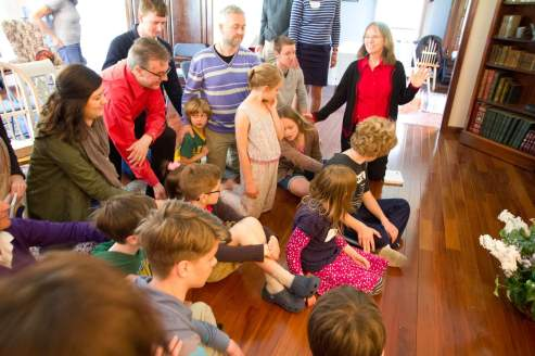 Prayer for outpouring of the Holy Spirit over children