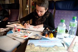 2011_portrait train_Clermont-Ferrand