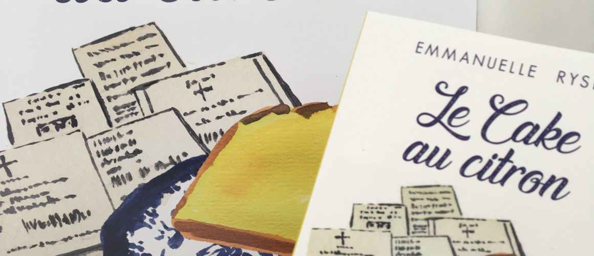 CAKE AU CITRON EN LIBRAIRIE