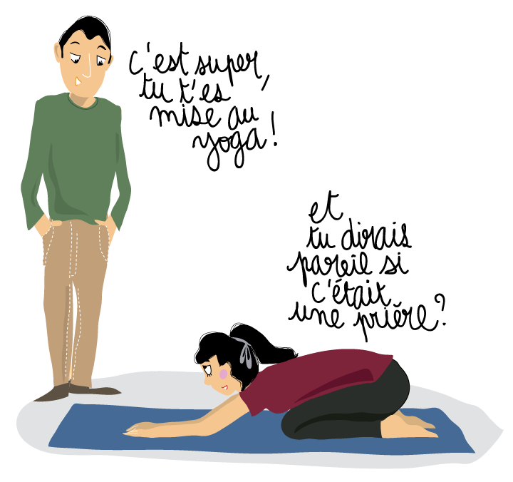 priere musulman yoga question ado