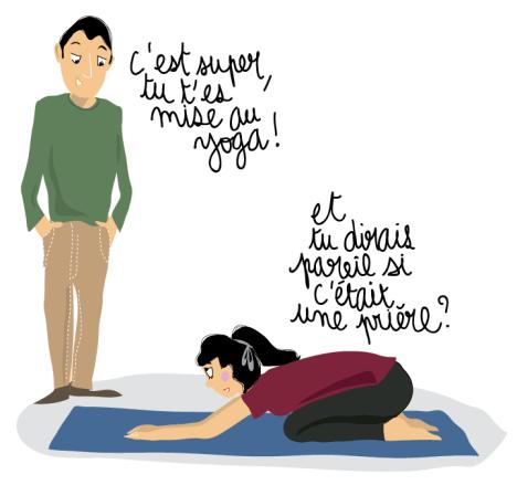 priere musulman yoga question ado