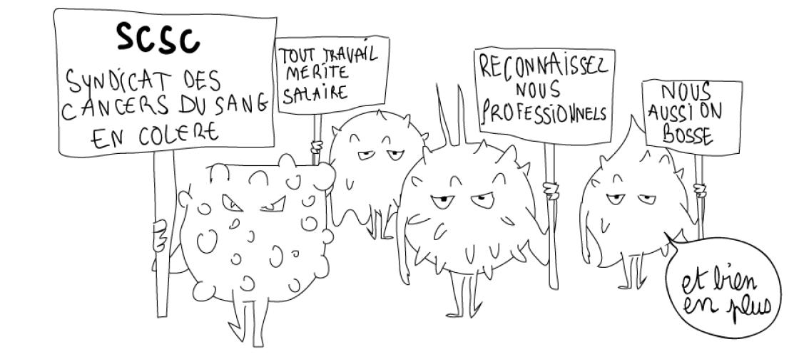 dessin humoristique cancer pesticides