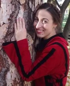 leiya woman and tree