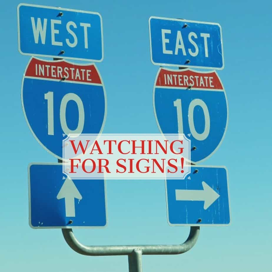 Watching for Signs