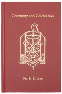 Ceremony and Celebration