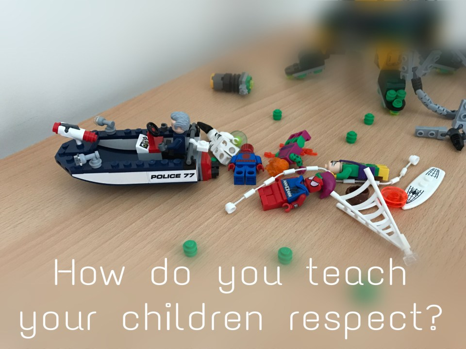 How do you teach your children respect?