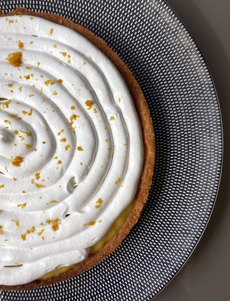 recette de tarte citron meringuée