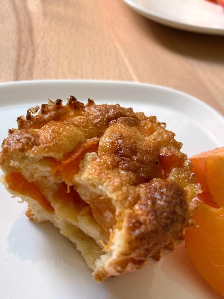 Recette des muffins abricot vanille