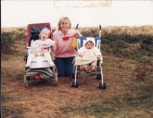 mum and me and my sister