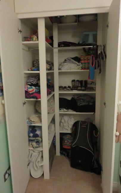 new built in wardrobe