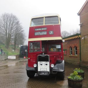 day out with Thomas and friends-Bertie Bus
