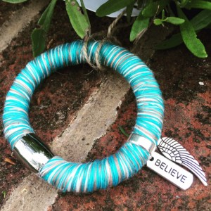 green samspaces bracelet