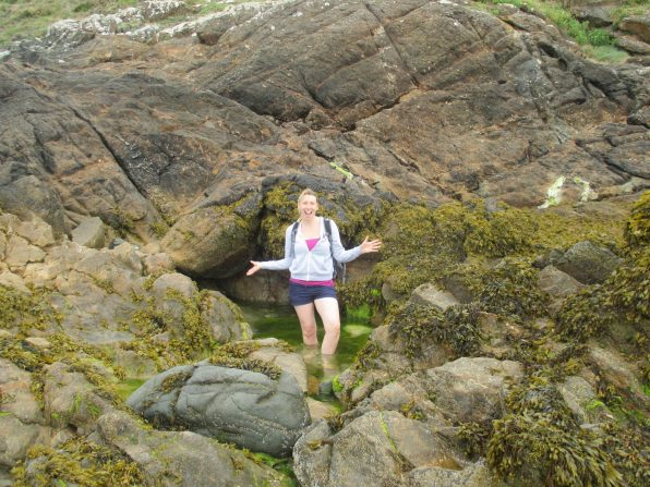 me in rock pools