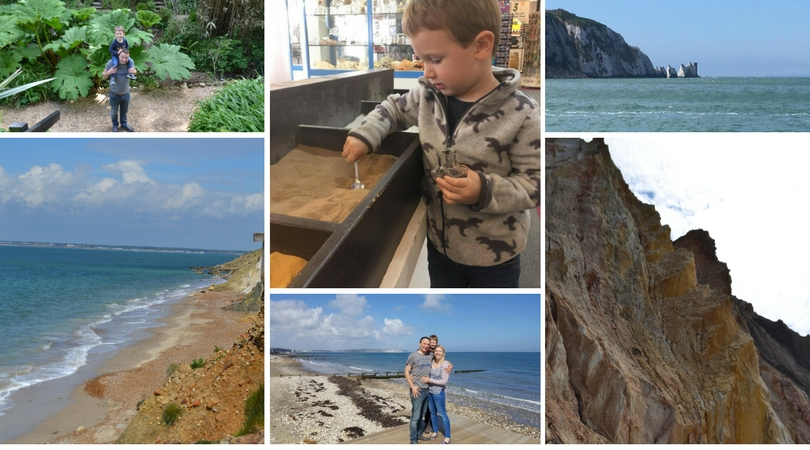 collage of our day at isle of wight