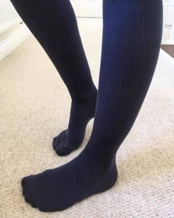 compression socks on me