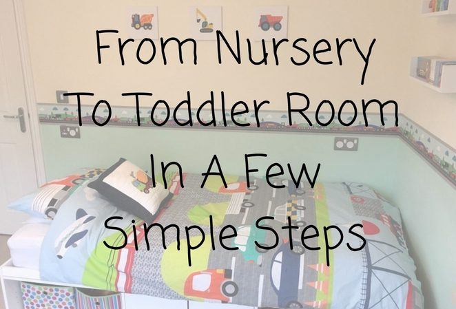 from nursery to toddler room in a few simple steps