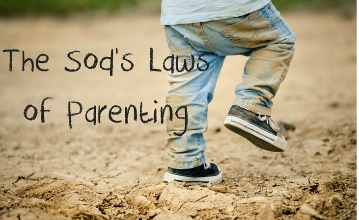 the sods laws of parenting