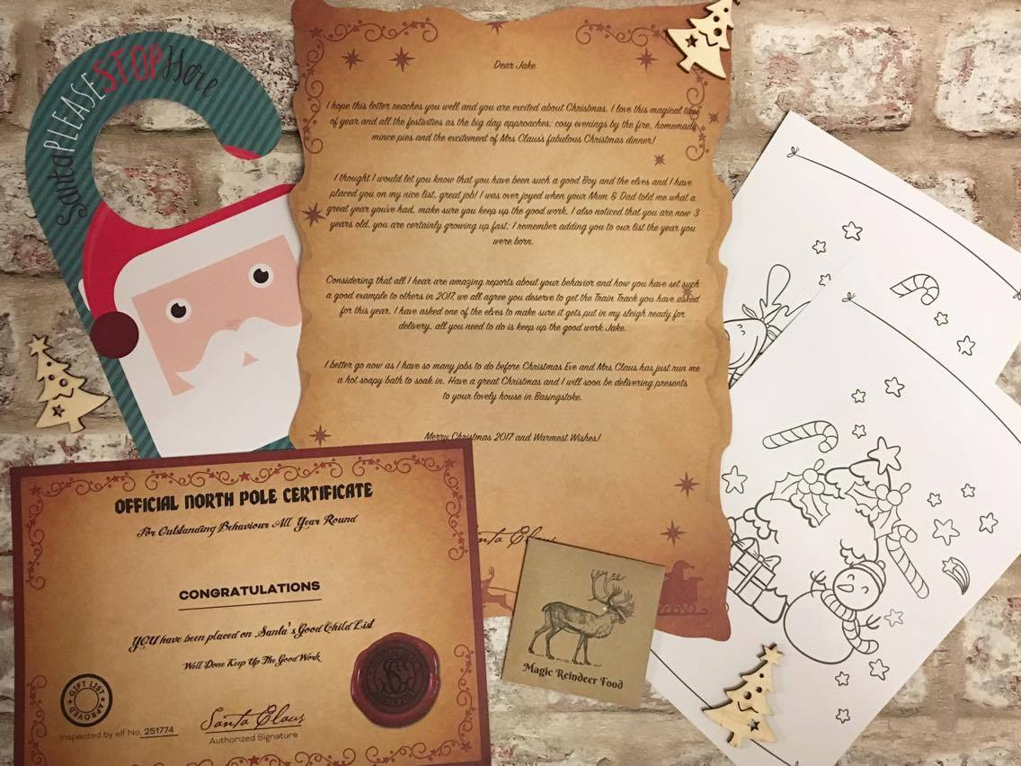 Magic Santa Letter Review And Discount Code  Emma Reed