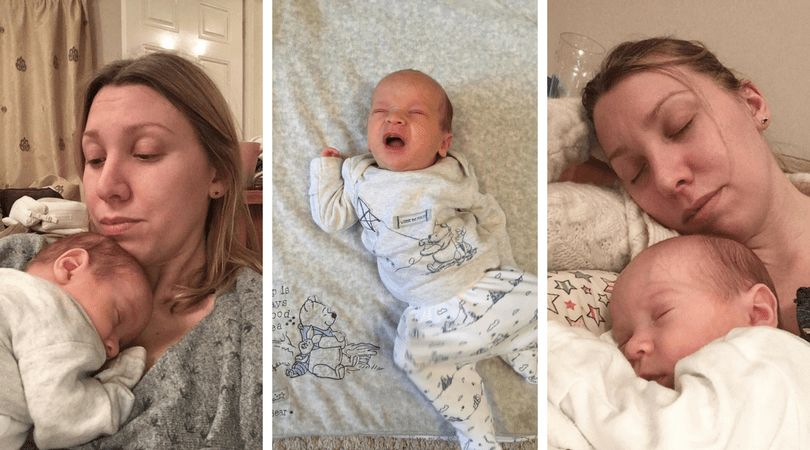the fourth trimester- 3 images of mum and baby