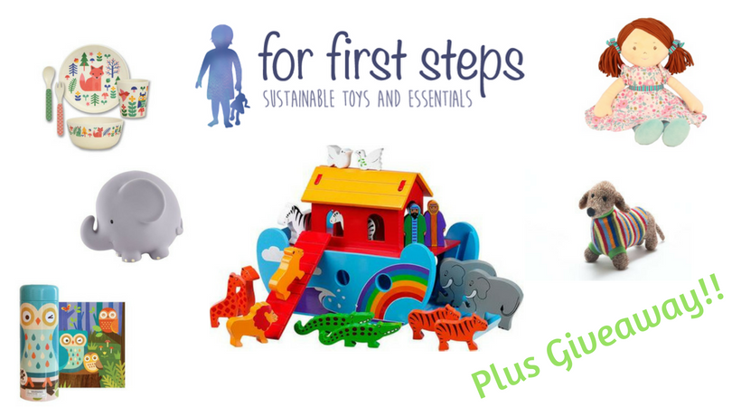 For First Steps Sustainable Toys Giveaway
