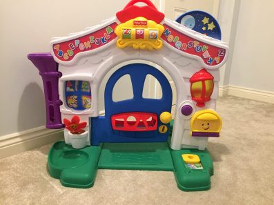 fisher price door