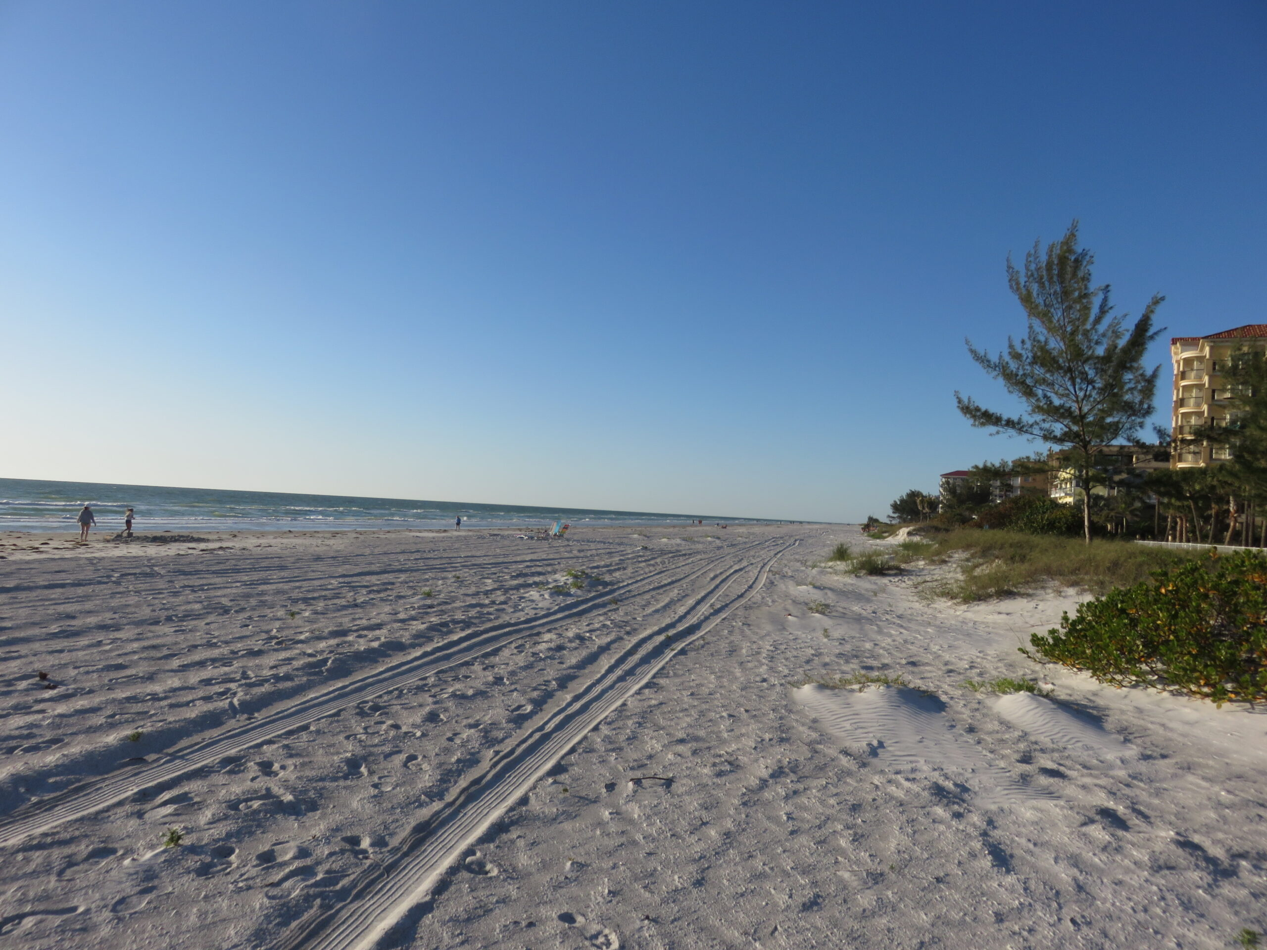 indian shores beach on our Florida holiday