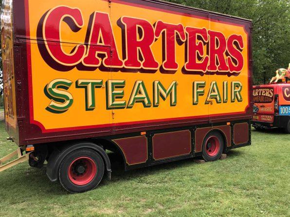 carters steam fair vehicle