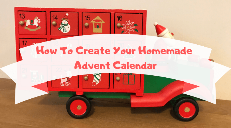 how to create your homemade advent calendar