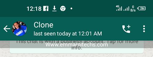 whatsapp last seen