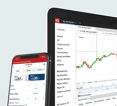 IG forex trading app