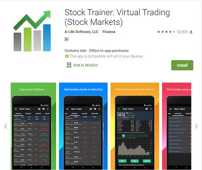 stock trainer trading app