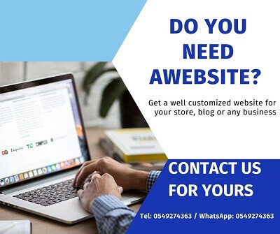 contact me for your website