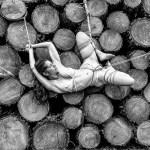"""Tirage photo: """"Shibari – Wood stack"""""""